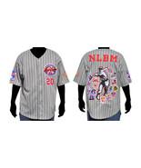 NLBM Commemorative Baseball Jersey - Gray - $65.00