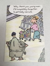 American Greetings Thinking of You Card-Humor/Cartoon - $1.75