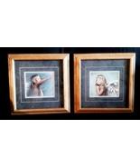 Pair of Nancy Noel Angel Girl Prints Professionally Framed  - $20.00
