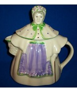 "Vintage Shawnee Pottery ""Granny Ann Teapot"" Cookie Jar Patented,USA ~ RARE~ - $59.99"