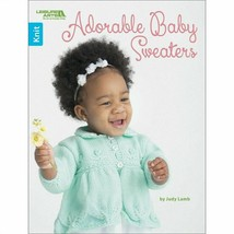 Leisure Arts Adorable Baby Sweaters Knit Childrens Clothes Judy Lamb Boo... - $14.67