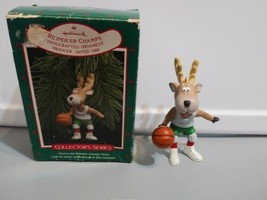 Vintage 1988 Hallmark ~Reindeer Champs~ Christmas Ornament. Collector's ... - $6.93