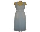 Vanity fair vintage blue night gown 60s thumb155 crop