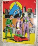 Batman & Villians Playskool Wooden Puzzle 1976 - $11.00
