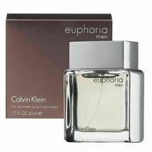 EUPHORIA BY CALVIN KLEIN 1.7 OZ / 50 ML EDT SPRAY FOR MEN - $32.18