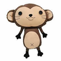 Cute Creative Handmade Doll Toy Decoration Doll Monkey George Large Size - $36.01