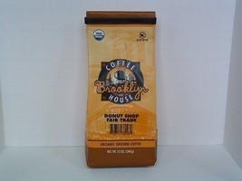 Brooklyn Coffeehouse Donut Shop Fair Trade USDA Organic Roasted Coffee 12oz - $9.99
