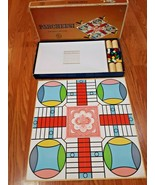 Vintage Parcheesi Board Game Gold Seal Edition 1967 SelRight Complete Ex... - $32.66