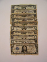 Circulated 1928.  Silver Certificate Funny Back Blue Seal Note. $1.00 se... - $142.50
