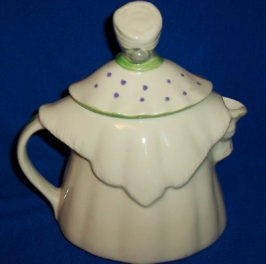 "Vintage Shawnee Pottery ""Granny Ann Teapot"" Cookie Jar Patented,USA ~ RARE~"