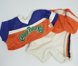 VINTAGE CABBAGE PATCH KIDS DOLL SPORTS 3 PIECE FOOTBALL JERSEY & SHORTS ... - $23.38