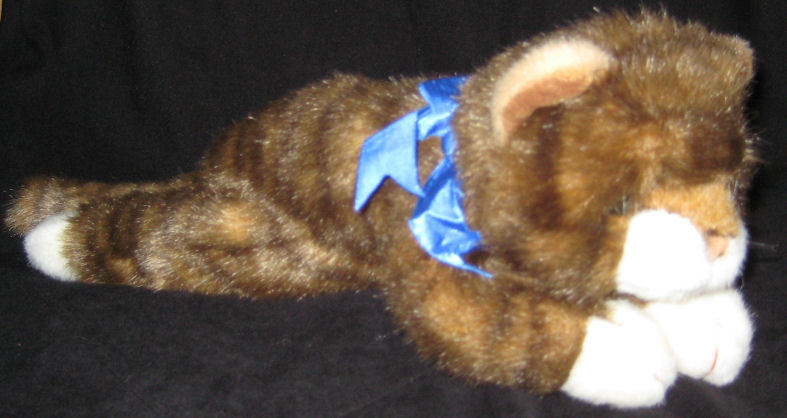 Primary image for Ty Classic Plush SPICE Brown Tabby Cat