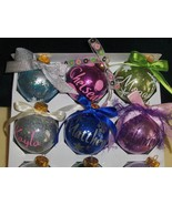 Personalized Glitter Christmas Ornaments - $5.50