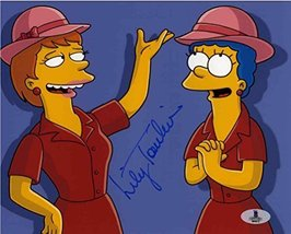 Lily Tomlin The Simpsons Signed 8x10 Photo Certified Authentic Beckett BAS COA - $197.99
