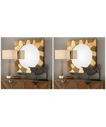 "TWO MODERN GROOVED PATTERNS 36"" SOLID WOOD FRAME TWO TONE WALL VANITY MI... - $602.80"