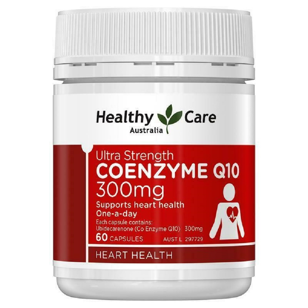 Healthy Care Ultra Strength CoQ10 300mg 60 Capsules - $64.74