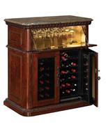 36 Bottle Vintage Cherry Wine Cabinet, New, Wine Cabinet Cooler,Wine Fur... - $1,399.99