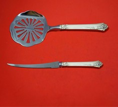 Damask Rose by Oneida Sterling Silver Tomato Serving Set 2-Piece Custom Made - $129.00