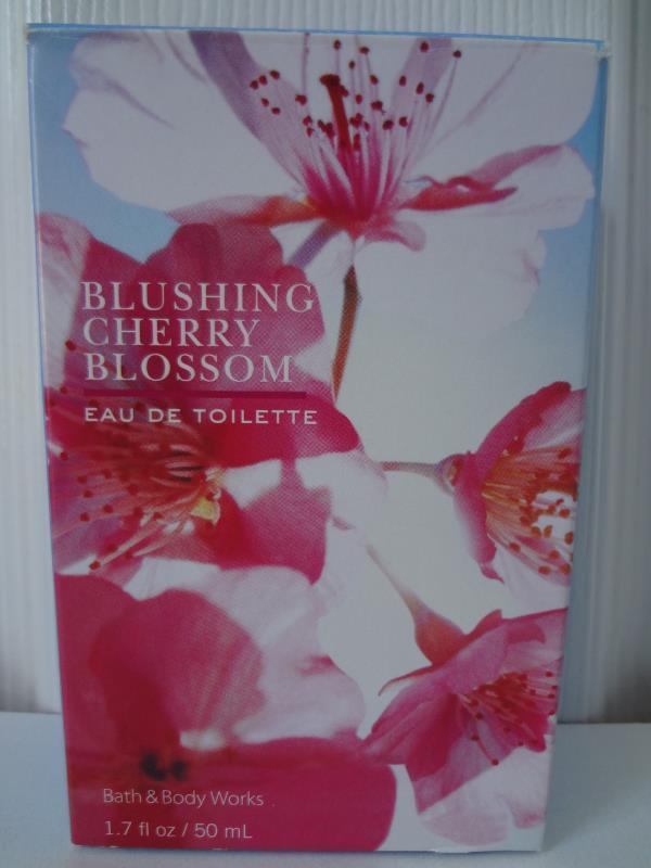 Bath & Body Works Luxuries Blushing Cherry Blossom Eau De Toilette 1.7 oz /50 ml