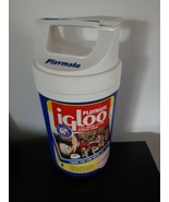 Vintage Playmate Igloo 1/2 Gallon Beverage Cooler Blue BBQ Party Portable - $34.60