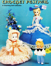 CROCHET FESTIVAL DOLL COLLECTION CLOTHES - $5.95