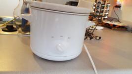 Crock-Pot SCR151-WG 1-1/2 - Quart Round Manual Slow Cooker, White 073056... - $10.00