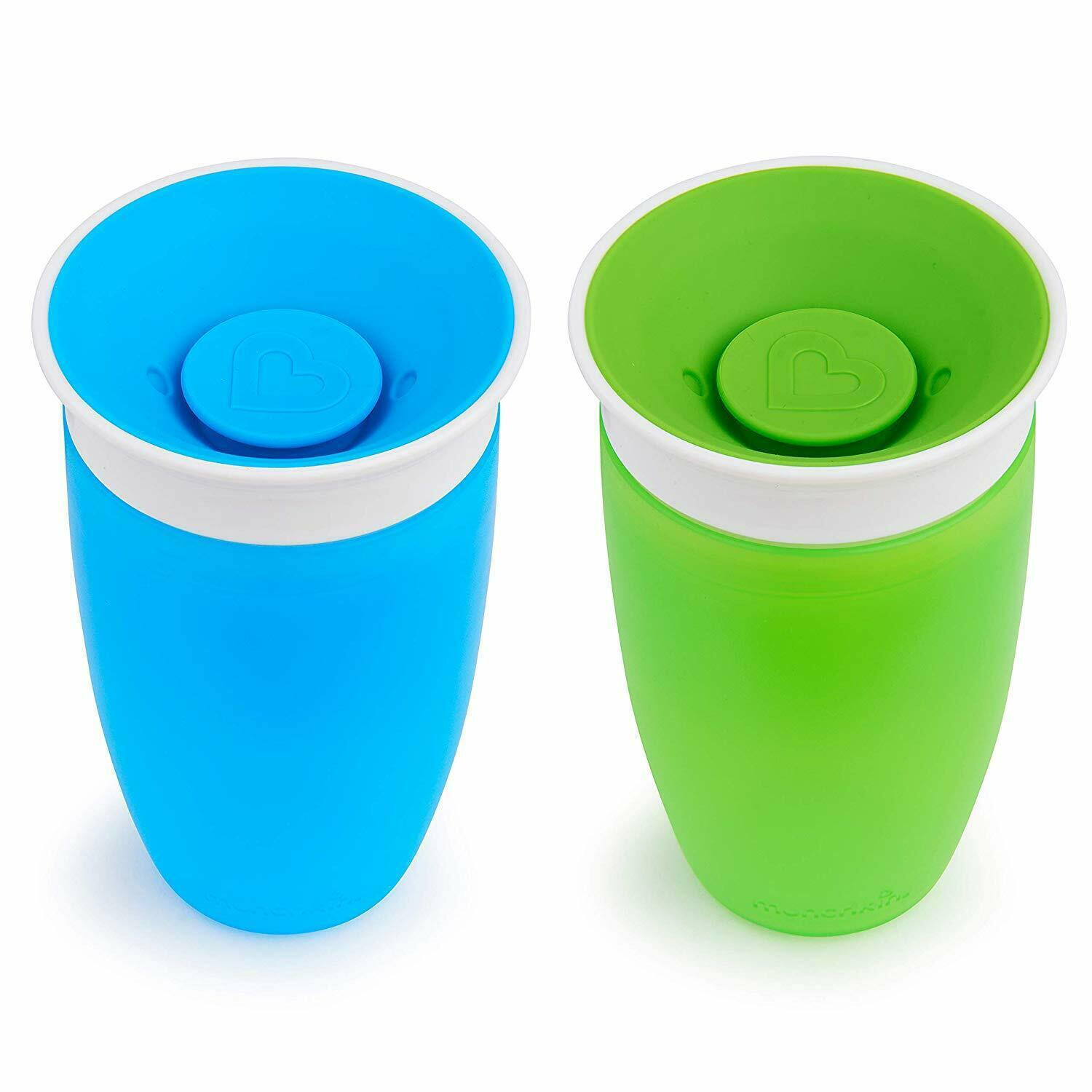 Sippy Cups Toddlers Babies 360 Degree Drinking Edge Munchkin Miracle Drink Milk
