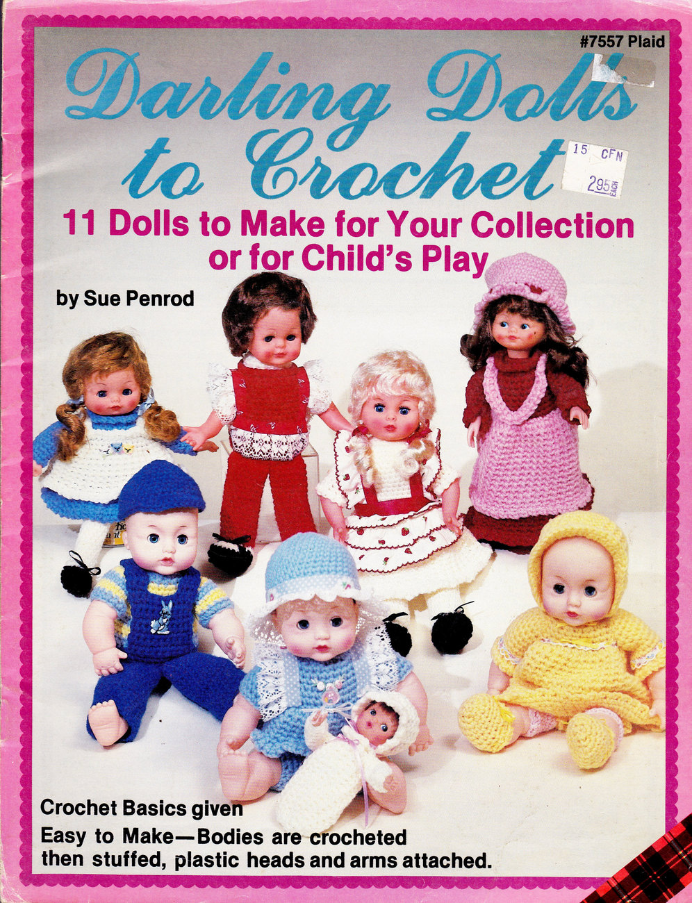 Primary image for DARLING DOLLS TO CROCHET DOLL COLLECTION OR FOR PLAY