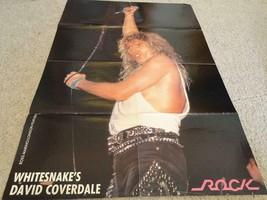 David Coverdale Ozzy Osbourne teen magazine poster clipping Whitesnake 1... - $2.50