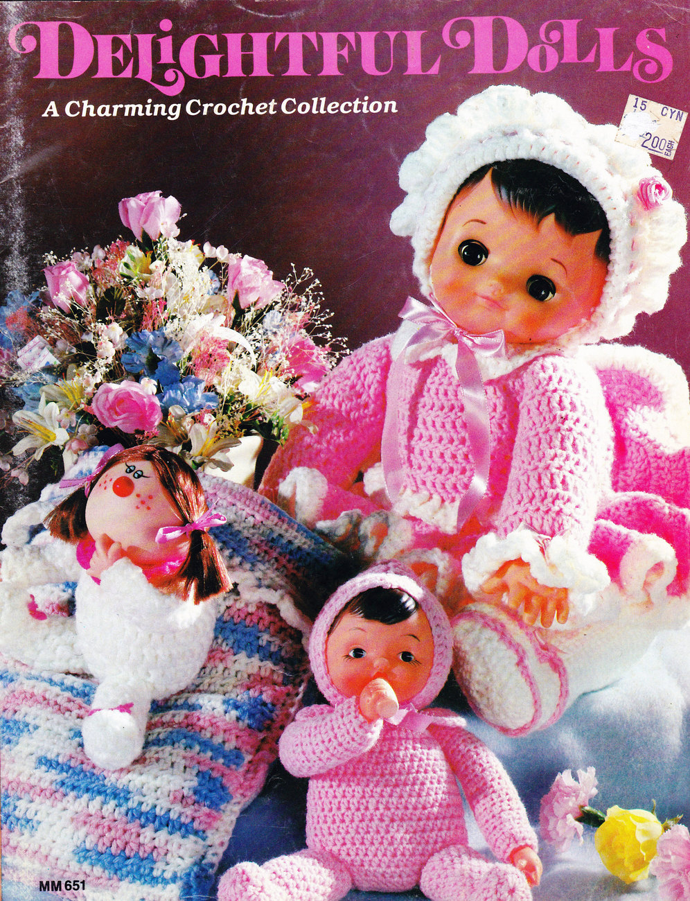 Primary image for CROCHET DELIGHTFUL DOLLS GEISHA SOFT SCULPTURE CLOWN