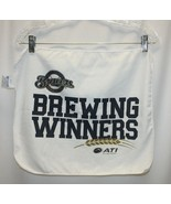 "Milwaukee Brewers Promo Hand Towel 17.5""x 14.5"" Brewing Winners! - $9.89"