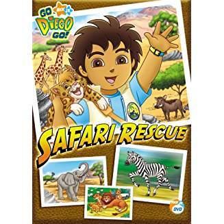 Go Diego Go! - Safari Rescue Dvd