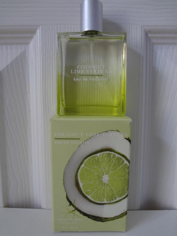 Bath & Body Works Luxuries Coconut Lime Verbena Eau De Toilette 1.7 fl oz / 50