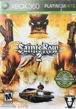 Saints Row 2 -- Platinum Hits (Microsoft Xbox 360, 2008) - $29.69