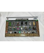 New Minecraft Nano Metal Figs Die Cast Figures 20 Pc Creeper Steve Alex ... - $16.82