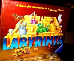 Labyrinth Board Game  Ravensburger A Race For Treasures - $25.00