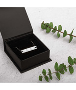 Engraved Silver Bar Chain Necklace - £22.94 GBP - £26.76 GBP