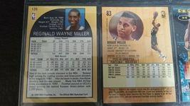 Vintage Lot 81 Reggie Miller NBA Basketball Trading Card image 5
