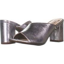 Circus by Sam Edelman Suzanna Heeled Sandals 670, Silver, 6 US / 36 EU - $26.20