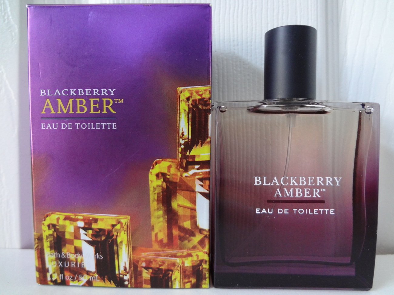 Bath & Body Works Luxuries Blackberry Amber Eau De Toilette, 1.7 fl. oz / 50 ml