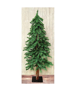 Alpine Rustic Holiday Christmas trees 5 6 & 7'  natural look - $119.95+