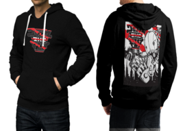 Join The Fly  Black Cotton Hoodie For Men - $39.99