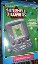 Radio Shack Handheld Billiards Electronic Game In Box - £10.90 GBP