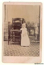 CHILD MISSING ARM CLEAR VIEW CABINET CARD - $9.95