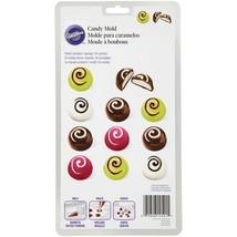 Wilton Christmas Truffle Cherry 14 Cavity Candy Melts Mold - $4.94
