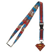 Supergirl Superman Dc Comics ID Badge Holder Keychain Lanyard - $12.00