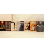 Lot of 7 Audio Book Stories on Cassette by Connelly, Harris, Sanders, ot... - $23.65