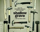 (Used) Shallow Grave: Criterion Collection DVD / Case / Artwork / Insert