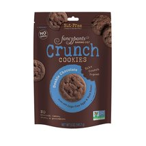 Fancypants Crunch Cookies - Double Chocolate - Case of 6 - 5 oz. - $28.99