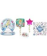 Alice in Wonderland Plates Napkins Party Pack Birthday Balloon Decoratio... - $21.73